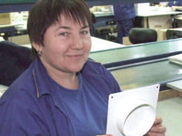 Работник цеха Юлия Ивановна Козина