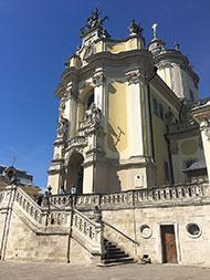 Собор святого Юра. Главный вход